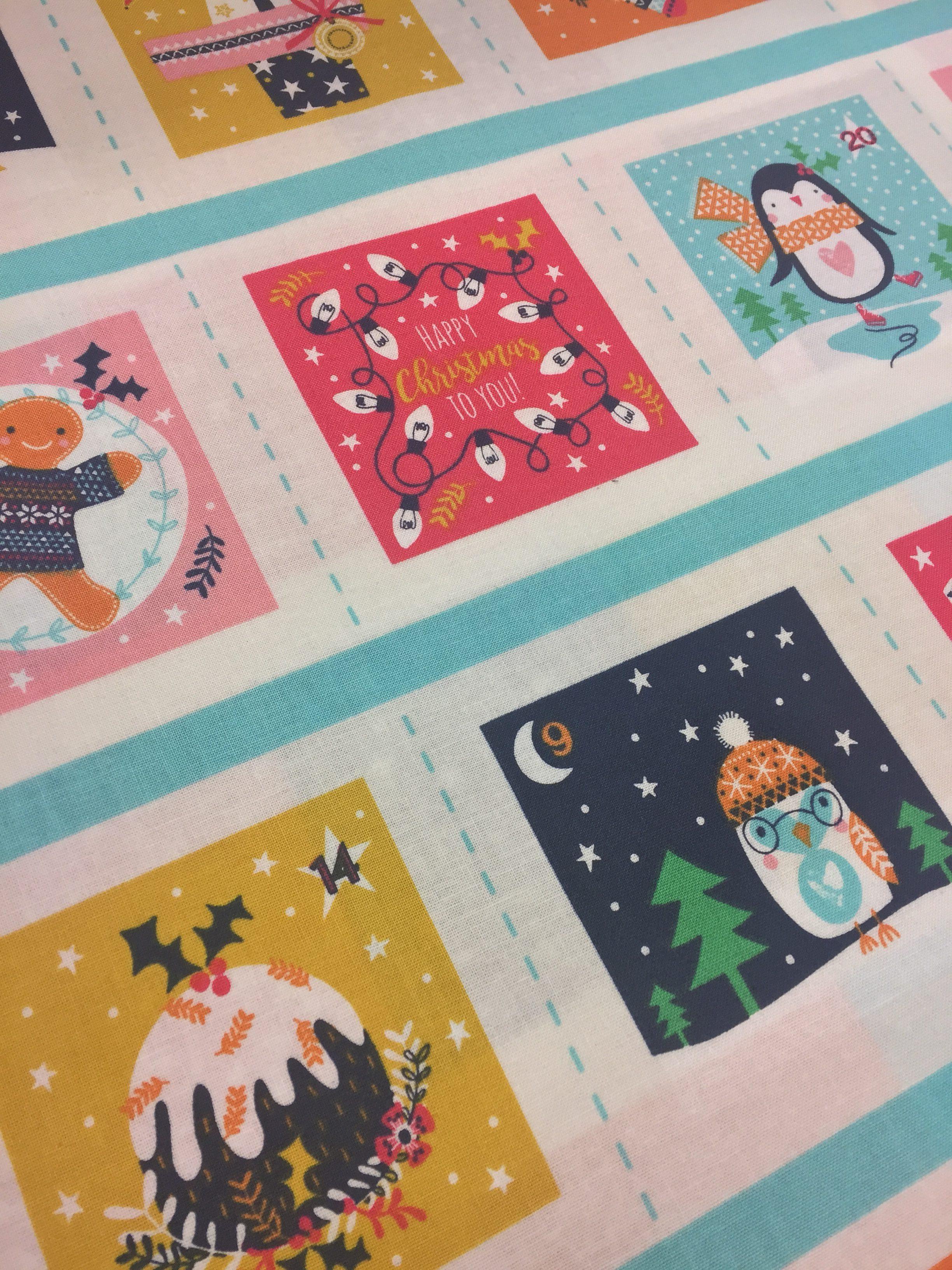 Fabric Advent Calendar Workshop The Craft Studio