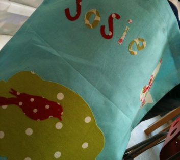 Kids Applique Bag