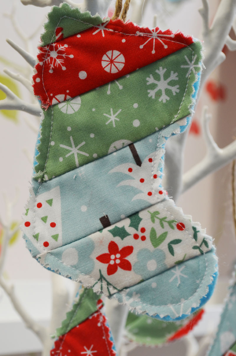 Patchwork Christmas Decorations - The Craft Studio